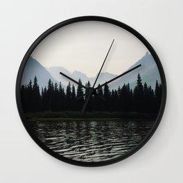 Glacier National Park II Wall Clock