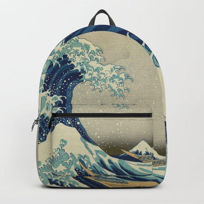 The Great Wave off Kanagawa Rucksack