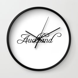 Auckland Wall Clock