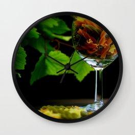 Tricolor Pasta Wall Clock