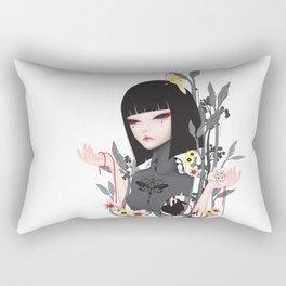 broken doll No.2 Rectangular Pillow