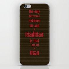 Madman iPhone & iPod Skin