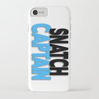 snatch iPhone & iPod Cases featuring Snatch Captain by Raunchy Ass Tees