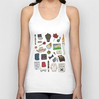 doctor who Tank Tops featuring Doctor Who by Shanti Draws