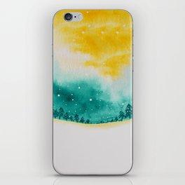 Magic of snow iPhone Skin