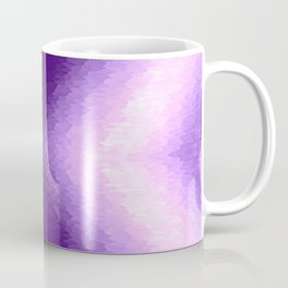Purple Texture Ombre Coffee Mug