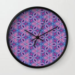 Pink Marrakech Wall Clock