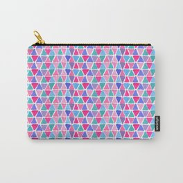 Pretty tiny triangles Carry-All Pouch