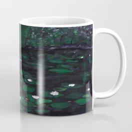 Heron looking for gold (fish) Coffee Mug