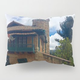 Mount Monserrate at Christmastime Maybe, Bogota, Colombia Pillow Sham
