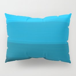 Ombre in Blue Pillow Sham