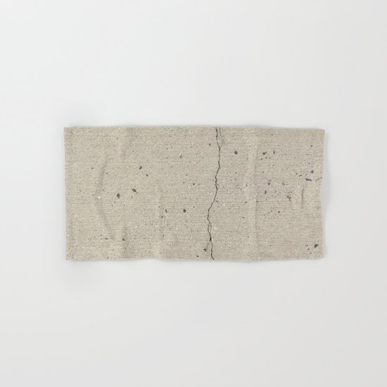 Real, Concrete, not Abstract Hand & Bath Towel