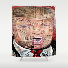 Fake News. Shower Curtain