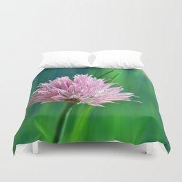 Allium pink 076 Duvet Cover