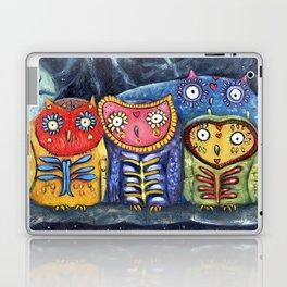 Dia de Muertos Owl Party Laptop & iPad Skin