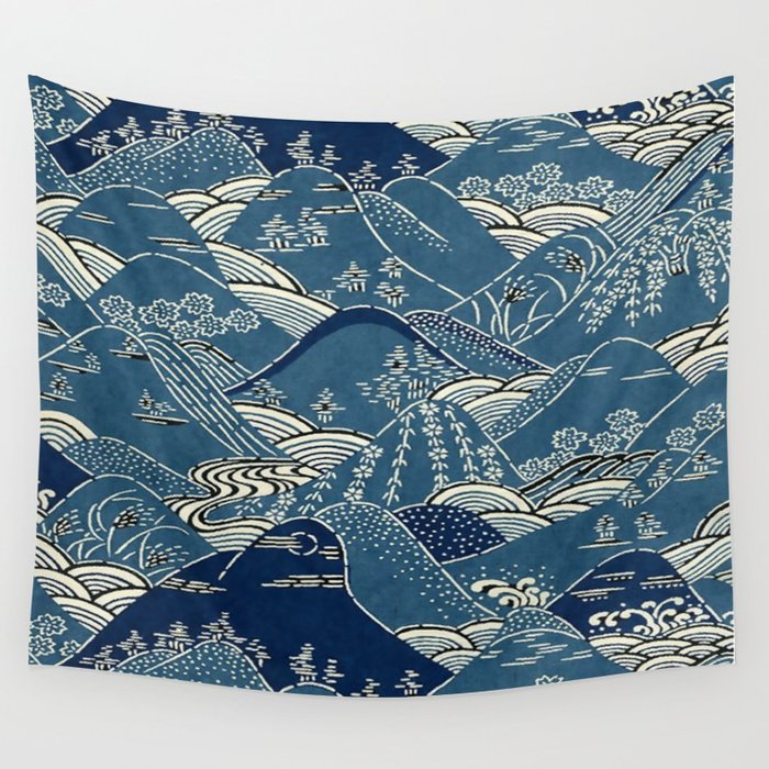 Blue Mountains Wall Tapestry