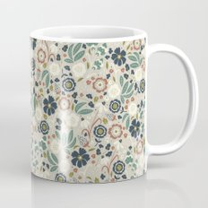 Flourishing Florals (Light-Green) Mug