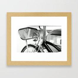 HIPSTER. Framed Art Print