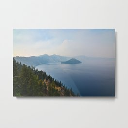 Crater Lake, Oregon Metal Print