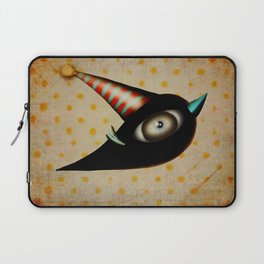 Lighting Birds Whimsical Art Laptop Sleeve