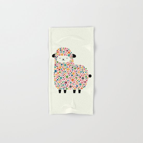 Bubble Sheep Hand & Bath Towel