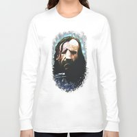 the hound Long Sleeve T-shirts featuring THE HOUND by Chewgowski