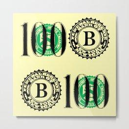 Bank Note Metal Print
