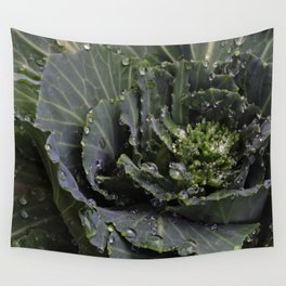 Green Bliss (3rd in Cabbage collection) Wall Tapestry