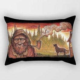 Old Grundle Frumptin Rectangular Pillow