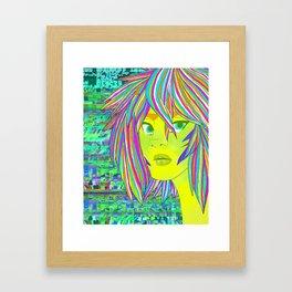 Bleach print 1 Framed Art Print
