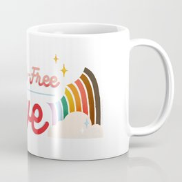 Label Free Love  inspired by The L Word Coffee Mug