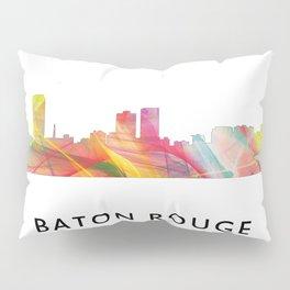 Baton Rouge Louisiana Skyline Pillow Sham