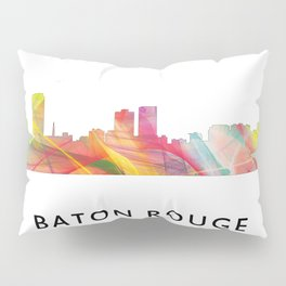 Baton Rouge Louisiana Skyline Pillow Sham