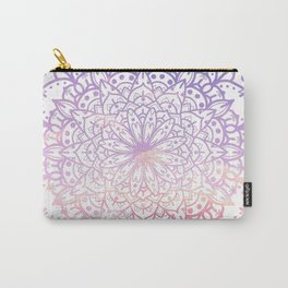 SOFT SUNSET MANDALA Carry-All Pouch