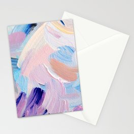 Jess Abstract Painting Stationery Cards