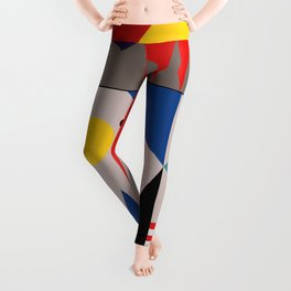 LANDSCAPES FROM THE PAST Leggings