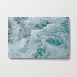 waves xviii Metal Print