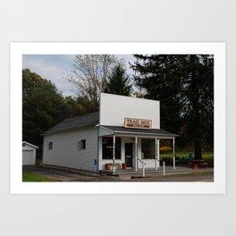 Trail Mix Store Art Print