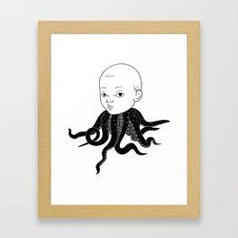 Tako chan Framed Art Print