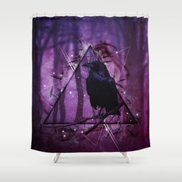Shine and Shade Shower Curtain