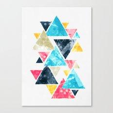 Triscape Canvas Print