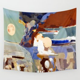 Paul Nash Battle of Germany Wall Tapestry
