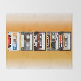 The cassette tape Throw Blanket