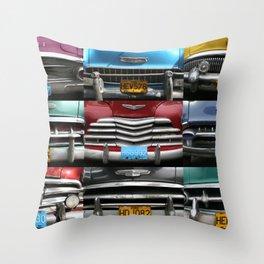 Cuba Car Grilles - Horizontal Throw Pillow