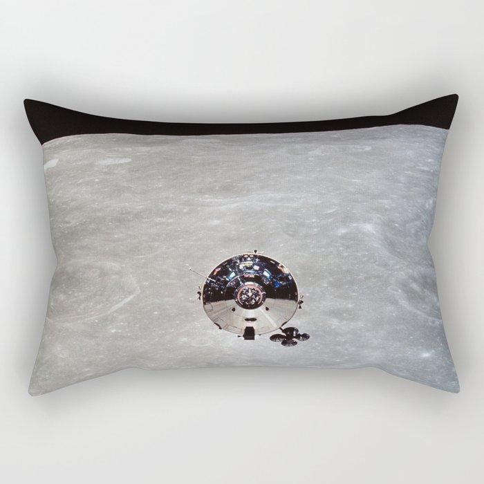 Apollo 10 - Far Side Of The Moon Rectangular Pillow