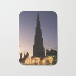 The Tallest Building Bath Mat
