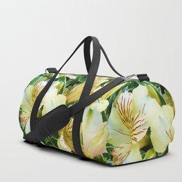 Beautiful Peruvian Inca Lilies Duffle Bag