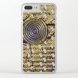 Ancestral Ornament 2B Clear iPhone Case