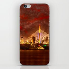 Boston Charles River Bridges iPhone Skin