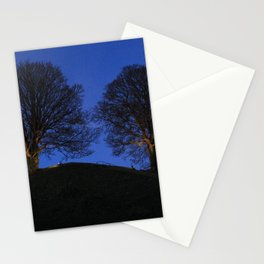 Oxford Castle Motte at Night Stationery Cards